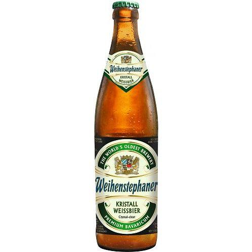 Weihenstephaner Kristall Weissbeer Beer 16.9 oz