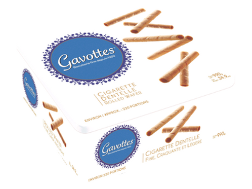 Gavottes Rolled Wafers (Cigarette Dentelle) 34.9 oz (990g)