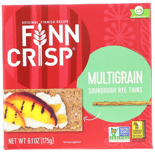 Finn Crisp Multigrain Sourdough Rye Thins 6.1 oz (175g)