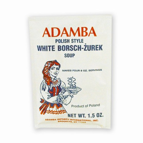Adamba Polish Style White Borscht Żurek 1.5 oz (43g)