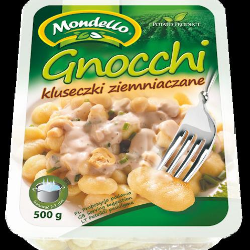 Mondello Potato Gnocchi (Kluseczki Ziemniaczane) 17.6 oz (500g) Package