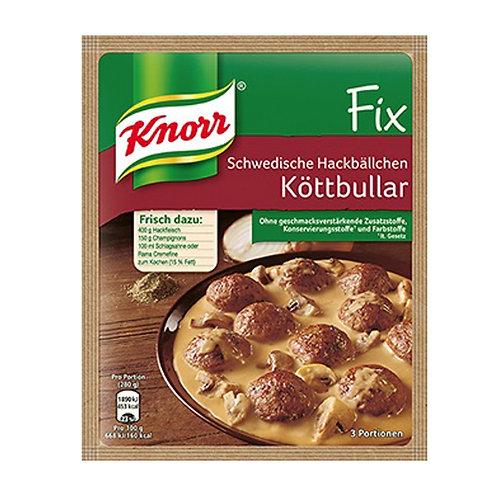 Knorr Fix Für Schwedische Hackbällchen (Meatballs) Köttbullar Mix 1.7 oz (49g)