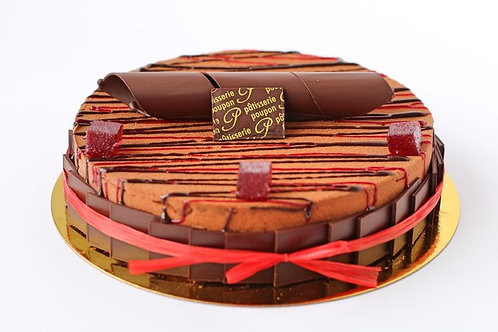 """The Red and The Black Cake - 6"""" (serves 8)"""