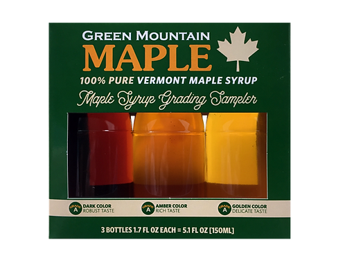Maple Syrup Sampler