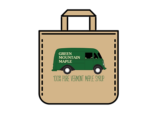 Green Mountain Maple Metro Canvas Bag
