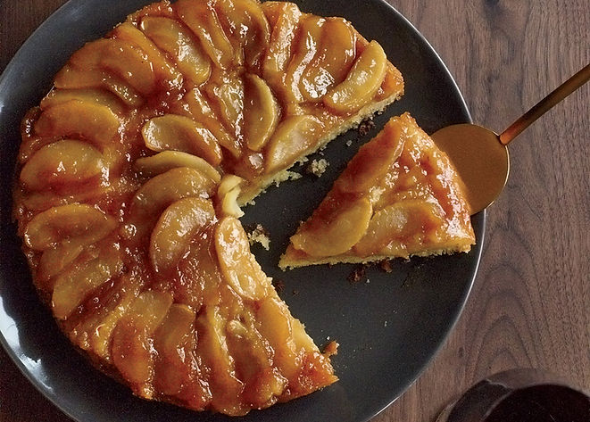Maple Apple Upside Down Cake.jpg