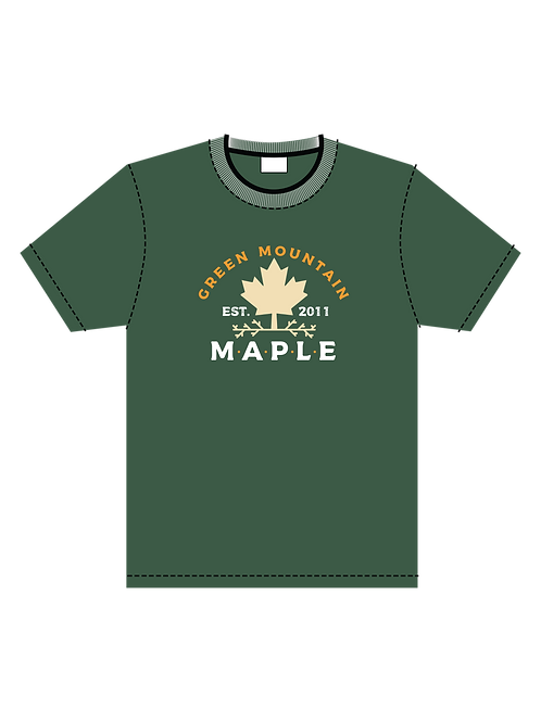 Green Mountain Maple Primary T-Shirt