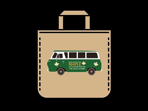 Green Mountain Maple Scooby Canvas Bag