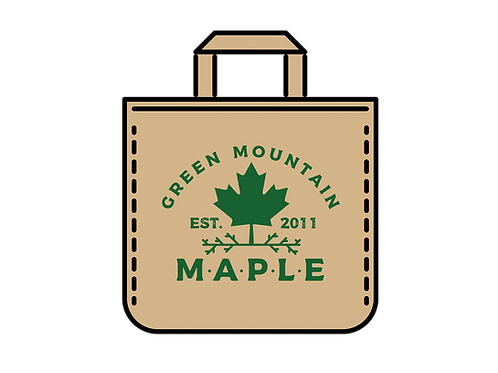 Green Mountain Maple Logo Canvas Bag