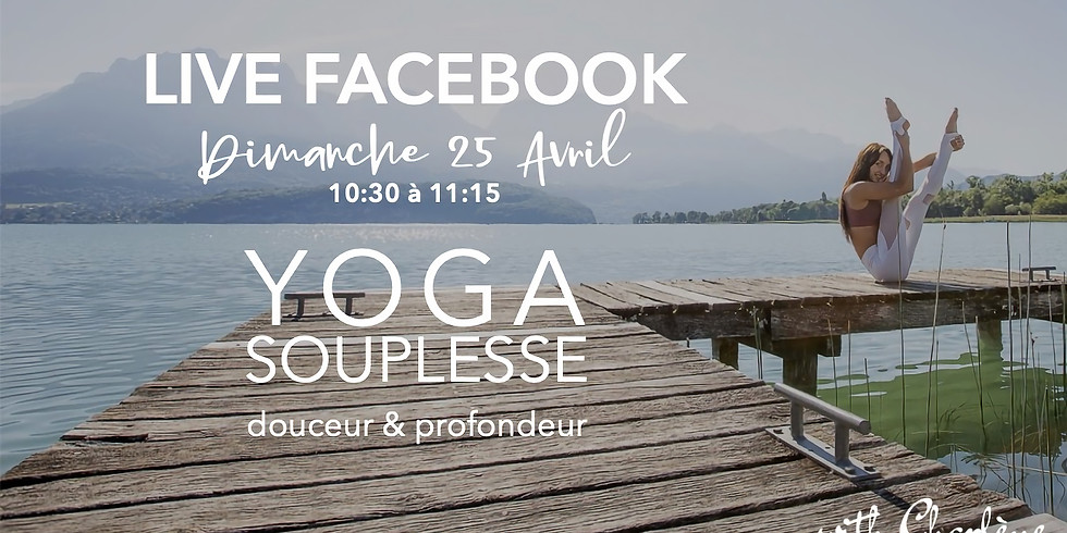 YOGA Gratuit en Live Facebook
