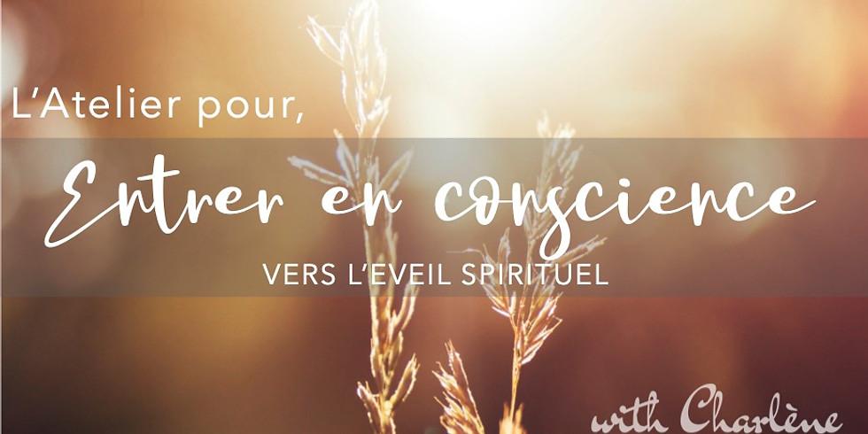 Entrer en conscience - Eveil spirituel ONLINE