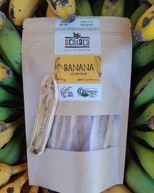 Banana orgânica desidratada - Acaiaca