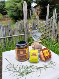 Tortinhas e doce de mel - Torta da Montanha