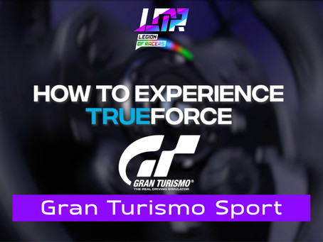 Logitech G923 Part 6: Gran Turismo Sport