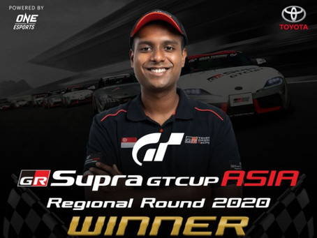 LEGION OF RACERS ALEEF MUHAMMAD IS TOP SIMRACER AT TOYOTA GR SUPRA GT CUP ASIA