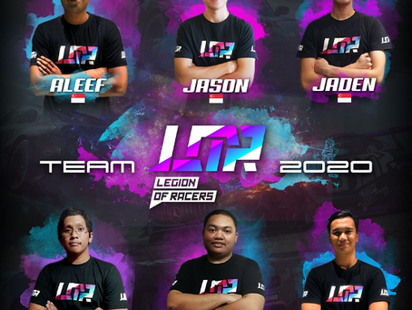 LEGION OF RACERS GUNNING FOR ANOTHER TITLE IN eRGP SIMRACING SERIES