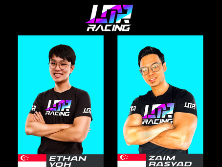 TWO MORE SIM RACERS JOIN LEGION OF RACERS ESPORTS TEAM