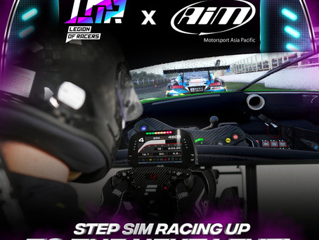 Legion of Racers Snags New Partnership with AiM Motorsport Asia Pacific