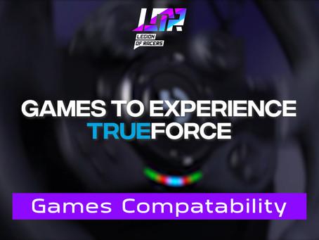 Logitech G923 TRUEFORCE: Part 2 - Games Compatibility