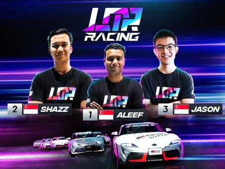 LEGION OF RACERS SINGAPOREAN SIMRACERS QUALIFY FOR TOYOTA'S GR SUPRA GT CUP ASIA 2020