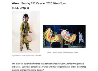 Black History Month Community Event 25.10.20 10am-2pm at Gnome House, 7 Blackhorse Lane E17 6DS