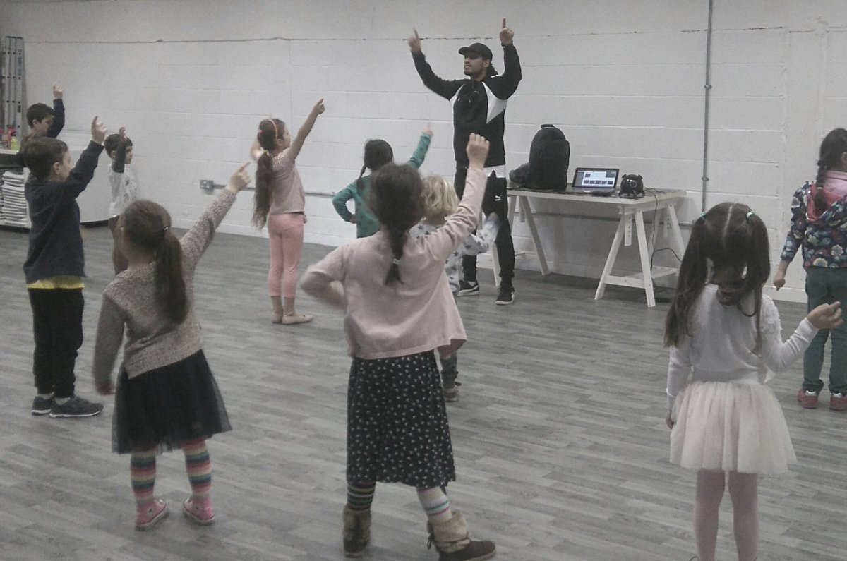 Street Dance for 4-7 year olds