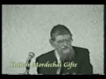 KaufmanRabbi Mordechai Gifter, Rosh Yesh