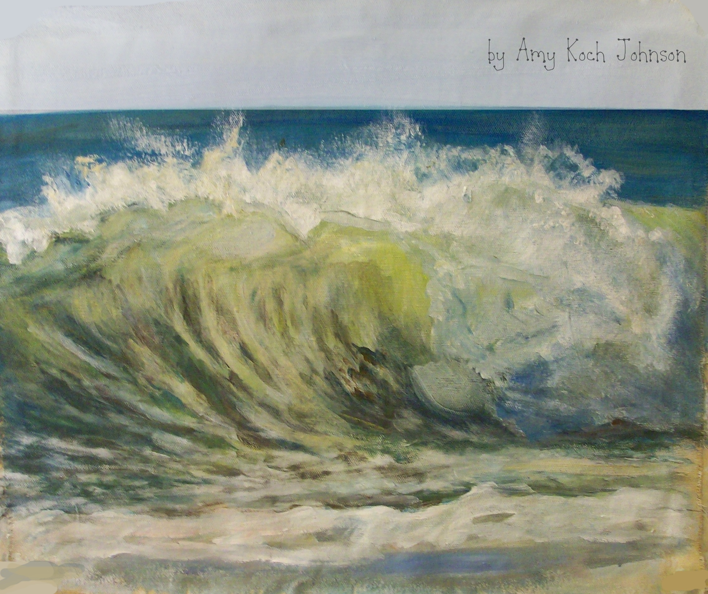 illustrationpaintingwave