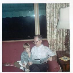 grandpa kaufman and amy