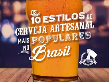 My Growler lança e-book sobre os estilos de cerveja artesanal preferidos dos brasileiros