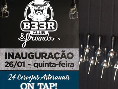 B33r Club & Friends inaugura nova My Growler Station em Curitiba