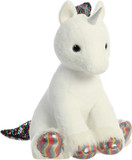 Shimmery Clouds Unicorn White