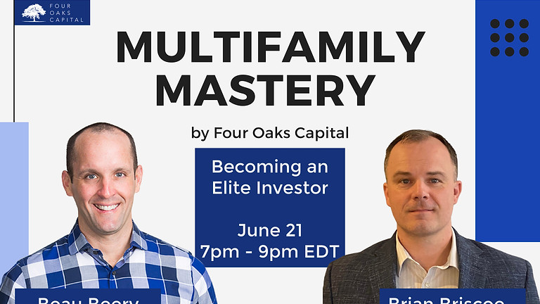 Multifamily Investors that Dominate with Beau Beery
