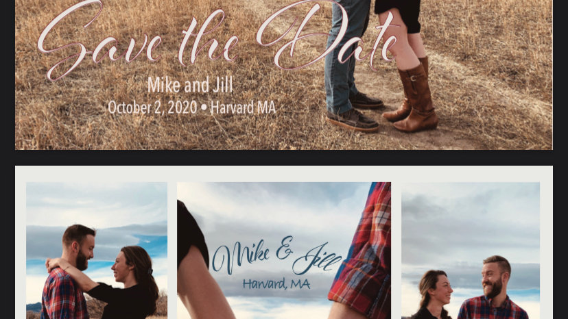 Save the Date Digital File