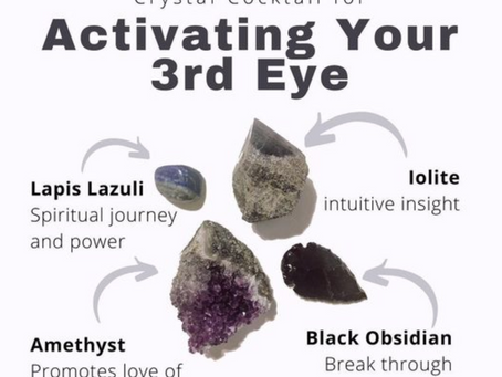 Crystals for your Third Eye Chakra