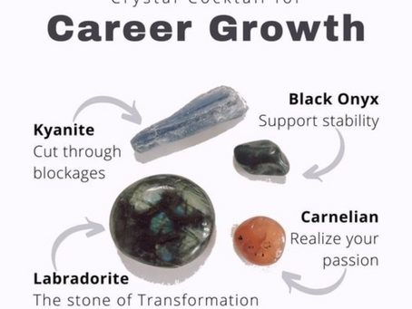 Crystals for Career Growth