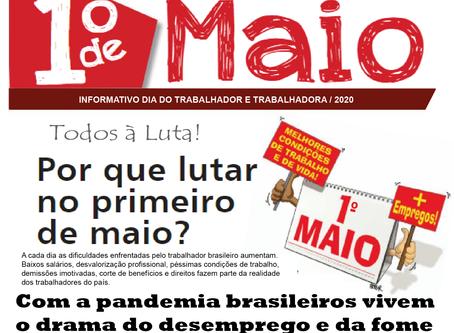 Boletim Informativo Especial: Primeiro de Maio