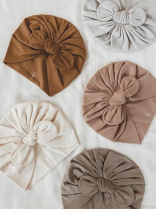 Turbantes de algodón orgánico