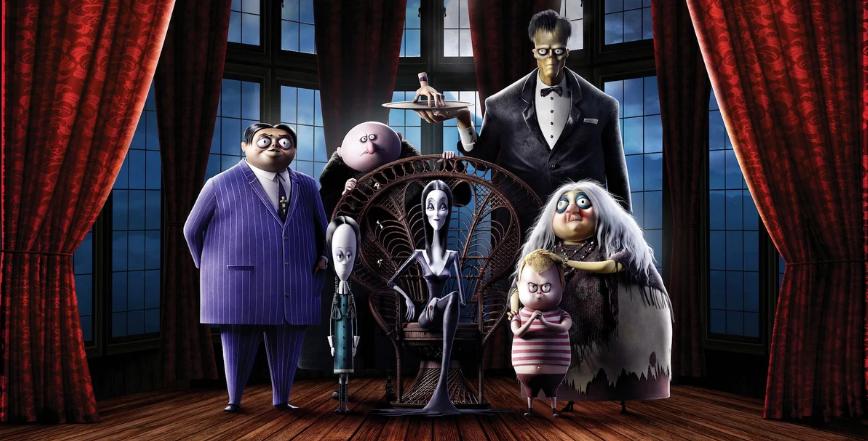 Los Locos Addams Una Familia Excentrica En Una Pelicula Cotidiana