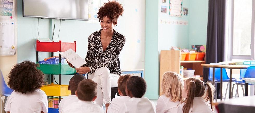 female primary school teacher