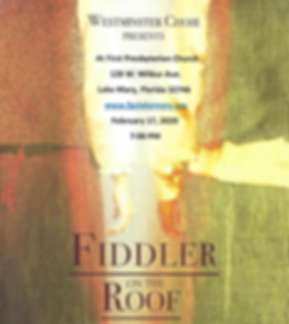 Fiddler On The Roof Musical