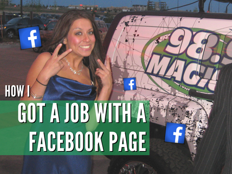 I Got A Job With A Facebook Page