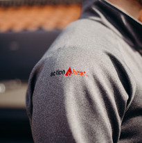 ActionHeat 5V Battery Heated 1/2 Zip Pullover Shirt
