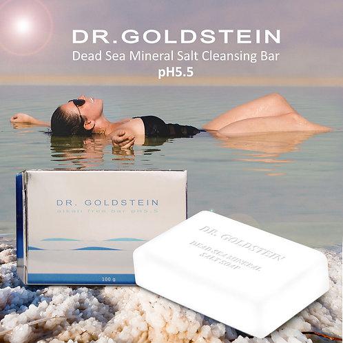 DR Goldstein pH 5.5 Dead Sea Mineral Salt Cleansing Bar (3pcs)