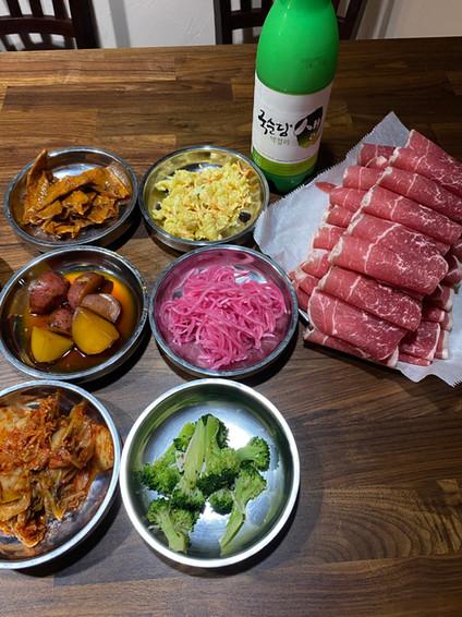 Korean BBQ & Makgeoli (Korean Traditional Rice wine)