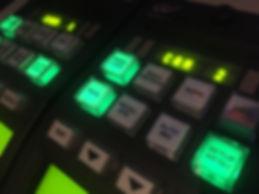 OCP van onze regiewagen om alle kleuren gelijk te leggen van de camera's