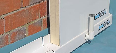 Drain Frame waterproofing product