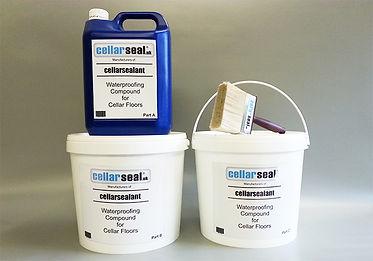 Cellar Sealant waterproofing product
