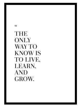 Live Learn Grow