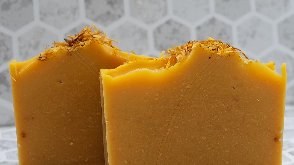 Orange Essential Oil Goat Milk Soap